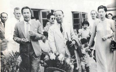 Hình ảnh Bảo Đại và các chính khách tại Hội nghị Hương Cảng 1947