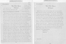 Những bức thư Bác Hồ gửi Tổng thống Mỹ