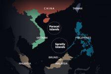 Tiến trình mở rộng hoạt động xây dựng ở Biển Đông