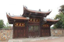 Các đền chùa quanh Tây Hồ