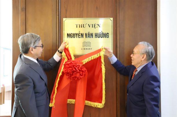 Thư viện Nguyễn Văn Hưởng: Điểm hẹn văn hóa mới